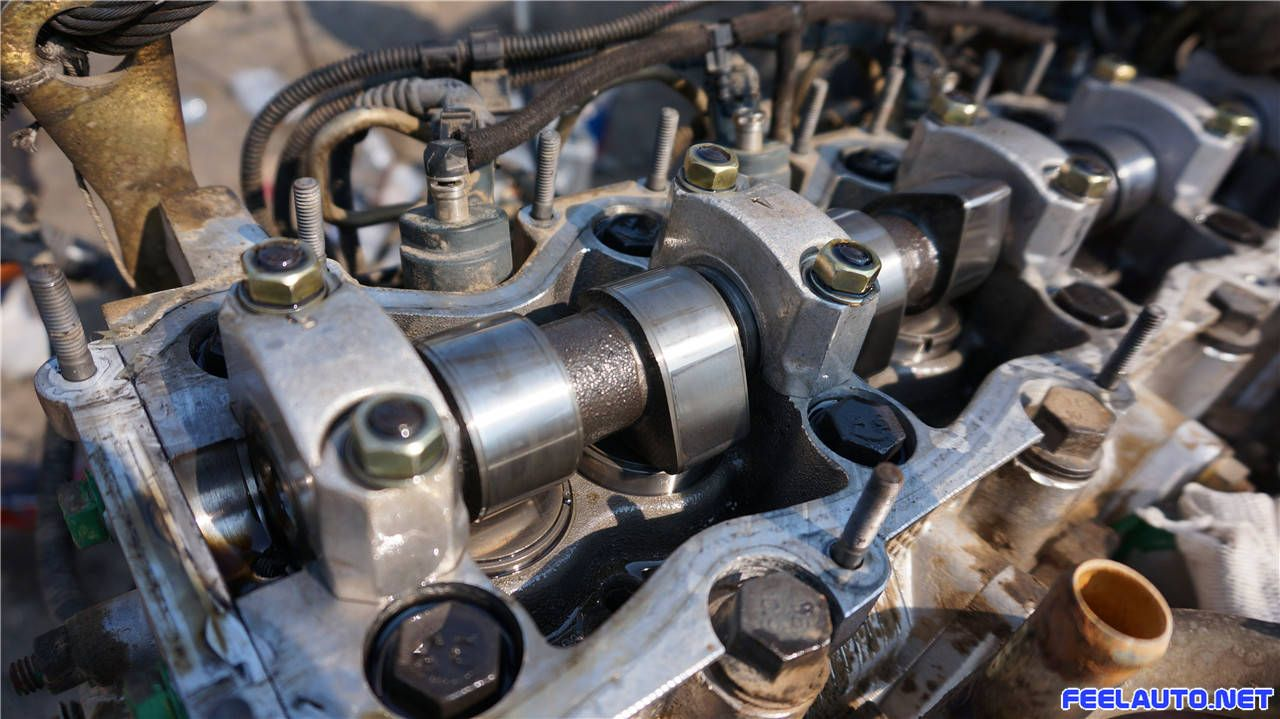 感触汽车-图片-依维柯拆装维修发动机-依维柯2